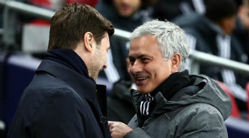 Mourinho và Man Utd đã thua cả hai trận gần nhất hành quân tới sân Tottenham. Ảnh:Reuters.