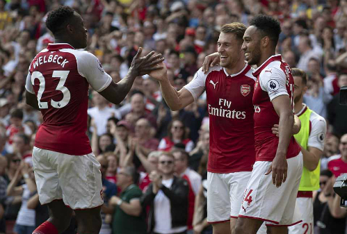 Chiến thắng đậm đà giúp Arsenal có sự chuẩn bị tích cực trước khi đại chiến với Atletico. Ảnh: Reuters.