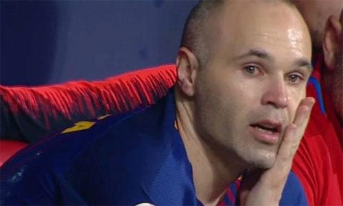 Iniesta từng đi đến đỉnh cao vinh quang trong màu áo Barca.