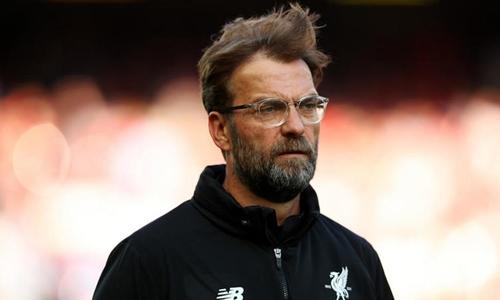 Klopp không hài lòng với một điểm rời sân The Hawthorns. Ảnh: Reuters.