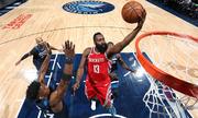 Rockets ghi 50 điểm ở hiệp ba, thắng dễ Timberwolves