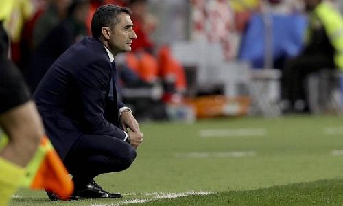 Valverde có thể ra đi dù giúp đội nhà giành cú đúp danh hiệu. Ảnh: EFE.