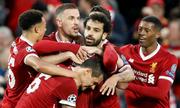 Salah ghi dấu giày vào bốn bàn, Liverpool đè bẹp Roma