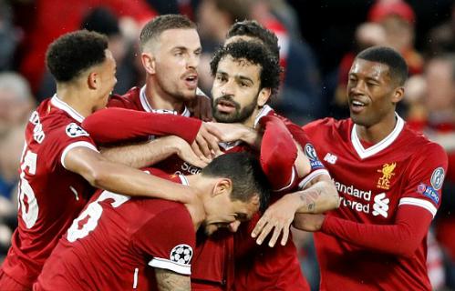 Salah tiếp tục là nhân vật chính trong chiến thắng của Liverpool. Ảnh:Reuters.