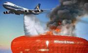 Máy bay Real oanh tạc pháo đài của Bayern