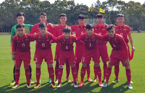Tại vòng chung kết U16 châu Á gần nhất Việt Nam vượt qua được vòng đấu bảng.