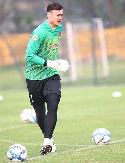 Văn Lâm đang có phong độ cao trong màu áo CLB và đội tuyển.