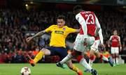 Arsenal bị Atletico Madrid cầm hoà dù chơi hơn người từ phút thứ 10