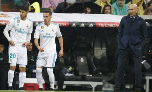 Từ băng ghế dự bị, Asensio và Vazquez đang đóng vai trò rất quan trọng đối với Real.