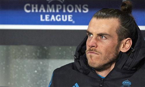 Bale liên tục phải ngồi ghế dự bị tại Champions League thời gian qua. Ảnh: Reuters