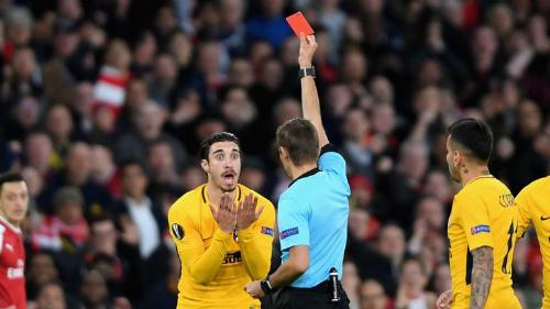 Đây là tấm thẻ đỏ diễn ra nhanh nhất trong lịch sử Europa League.