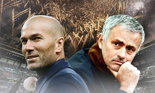 Thành công của Zidane khiến Mourinho và ba lần vào bán kết bị lu mờ hoàn toàn.