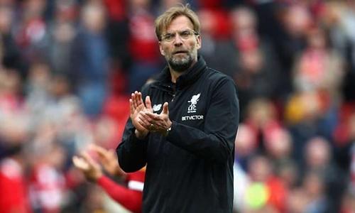 Klopp vẫn đang tìm danh hiệu đầu tiên cùng Liverpool. Ảnh: PA.