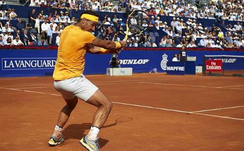 Nadal hướng tới chức vô địch thứ 11 tại Barcelona Mở rộng