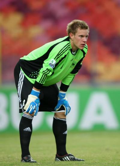 Từ tiền đạo, Ter Stegen thành danh trong vai trò của một thủ môn.