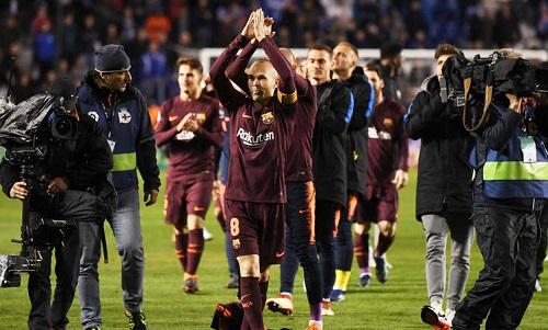 Iniesta ước gắn bó bất tận với Barca
