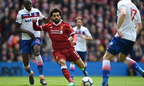 Salah sẽbị kỷ luật sau hành vi bi nghi là khiêu khíchBruno Martins Indi. Ảnh: AFP.