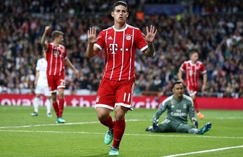 James Rodriguez bị gọi là 'kẻ phản bội', tiếp tay cho Real loại Bayern