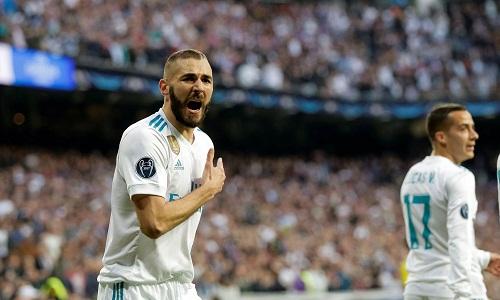 Benzema chỉ ghi hai bàn dù đượcdự11 trận bán kết Champions League. Ảnh: Reuters.