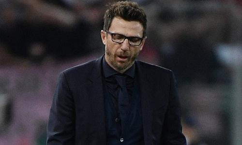 Di Francesco cho rằng Roma có thể làm tốt hơn ở Champions League. Ảnh: Reuters.