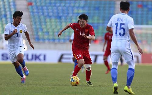 Maylaysia từng thua Việt Nam tại vòng bảng AFF Cup 2016. Ảnh: Đức Đồng