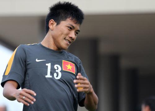 Quang Hải từng cùng tuyển Việt Nam đánh bại Thái Lan ở chung kết để đăng quang tại AFF Cup 2008. Ảnh: Thế Ngọc.