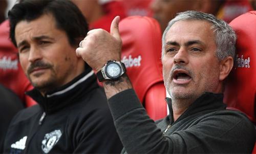 Mourinho tin Faria sẽ là lựa chọn thích hợp với Arsenal. Ảnh: PA.