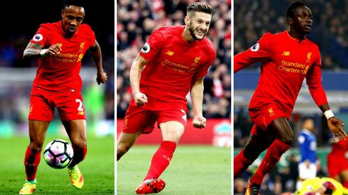 Từ trái sang: Nathaniel Clyne, Adam Lallana và Sadio Mane là ba cầu thủ từ Southampton sang Liverpool.