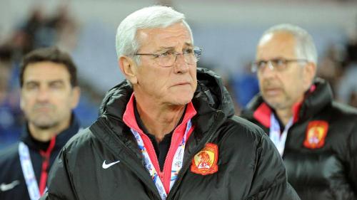 Lippi được kỳ vọng nâng tầm bóng đá Trung Quốc. Ảnh:Reuters.