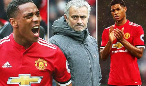 Mourinho từng bị chỉ trích vì không thường xuyên sử dụng các tài năng trẻ như Martial và Rashford.