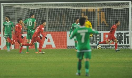 Iraq bị Việt Nam loại ở tứ kết U23 châu Á 2018. Ảnh: AFC.