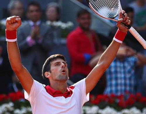 Djokovic chưa thể tìm lại phong độ đỉnh cao. Ảnh: GIE.
