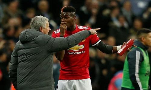 Quan hệ giữa Pogba và Mourinho không tốt trong vài tháng gần đây. Ảnh: Reuters.