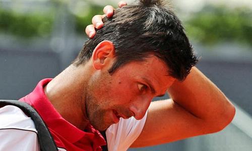 Djokovic lần đầu thua Edmund sau 4 lần chạm trán. Ảnh: Reuters.