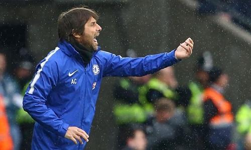 Conte muốn giúp Chelsea giành vé dự Champions League mùa tới. Ảnh: AFP.
