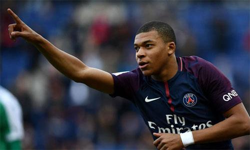 Mbappe đang chơi rất hay ở tuổi 19. Ảnh: Reuters