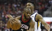 Rockets gặp Warriors tại chung kết play-off miền Tây NBA