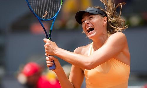 Sharapova lần thứ hai lọt vào tứ kết một giải đấu trong năm nay. Ảnh: WTA.