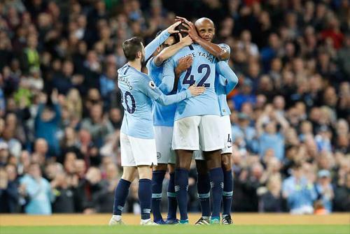 Man City đã có một mùa giải ấn tượng ở Ngoại hạng Anh.
