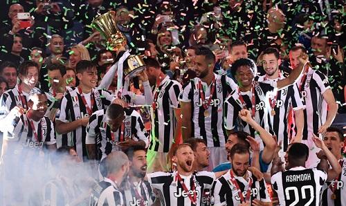 Juventus đứng trước cú đúp quốc nội thứ tư liên tiếp. Ảnh: LaPresse.