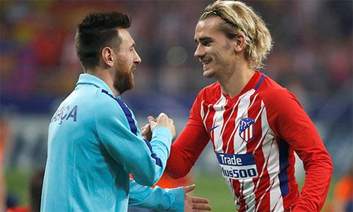 Griezmann sắp trở thành đồng đội của Messi. Ảnh: Reuters