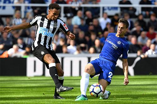 Newcastle có chiến thắng xứng đáng vì vào trận với khát khao và quyết tâm lớn hơn. Ảnh: NU.