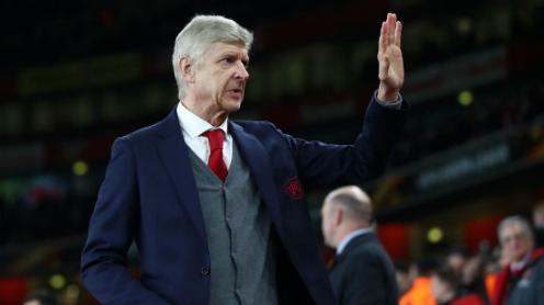 Ngày chia tay đã tới với Wenger và Arsenal. Ảnh:EPA.