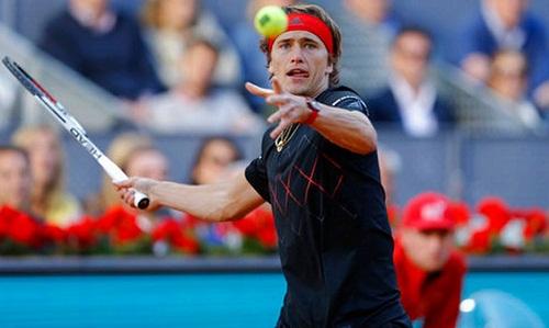 Zverev giành danh hiệu Masters 1000 thứ ba. Ảnh: AP.