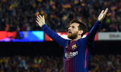 Chỉ có phép màu mới khiến Messi đánh rơi Chiếc giày vàng châu Âu. Ảnh: AFP.