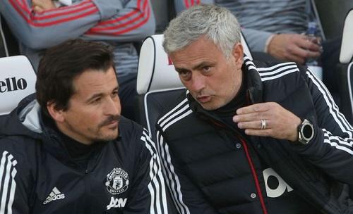 Mourinho đã chia tay phó tướng Rui Faria. Ảnh: SS.