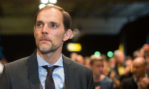Tuchel ký hợp đồng hai năm với PSG, sẽ làm việc từ mùa 2018-2019. Ảnh: PSG.