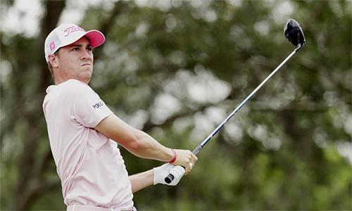 Justin Thomas lần đầu lên ngôi số một thế giới ở tuổi 25, chỉ ba năm sau khi góp mặt ở PGA Tour. Ảnh: AP.