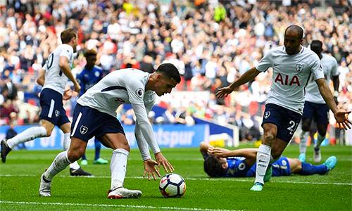 Tottenham thắng trong trận cầu hấp dẫn bậc nhất Ngoại hạng Anh mùa này. Ảnh: Reuters.