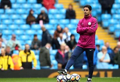 Arteta có cơ hội làm HLV của Arsenal khi mới 36 tuổi. Ảnh: PA.